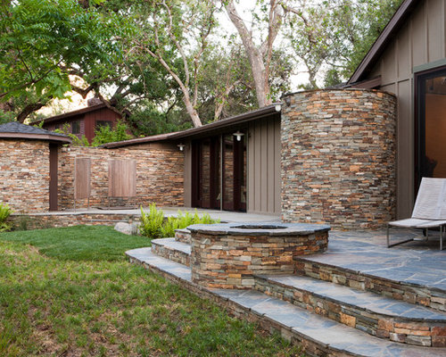 Stacked Stone Exterior Houzz