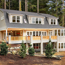 Traditional Exterior by Shuler Architecture