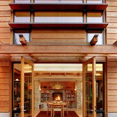 Contemporary Exterior by David Vandervort Architects