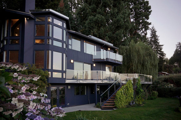 Contemporary Exterior by Johnson Squared Architecture + Planning