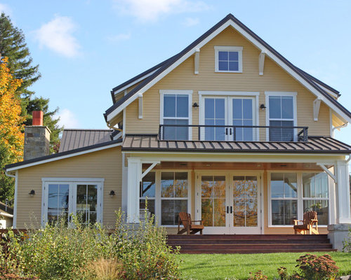 Two story balcony home design ideas pictures remodel and for 2 story homes with balcony
