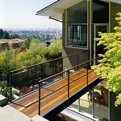 contemporary exterior by Malcolm Davis Architecture