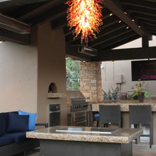 Modern Exterior by Cooke Furniture