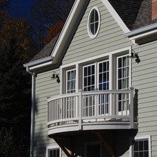 Farmhouse Exterior by DeMotte Architects