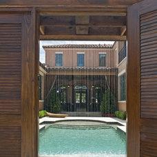 Mediterranean Exterior by Origins Residential Design