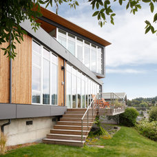 Modern Exterior by Prentiss Architects
