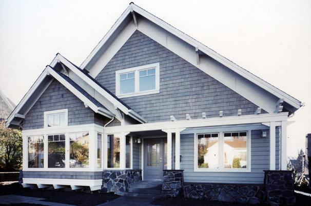 Traditional Exterior by David Vandervort Architects