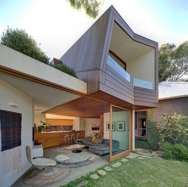 Contemporary Exterior by Grid Projects