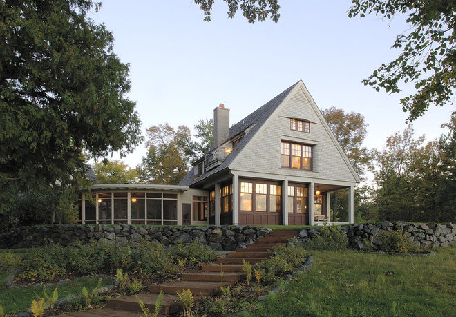 Traditional Exterior by TEA2 Architects