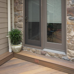 Inspiration for a timeless exterior home remodel in Baltimore