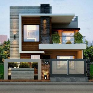 Example of an exterior home design in Bengaluru