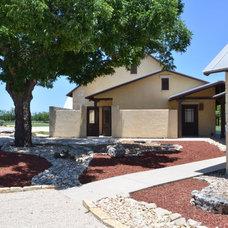 Contemporary Exterior by Texas Home Plans