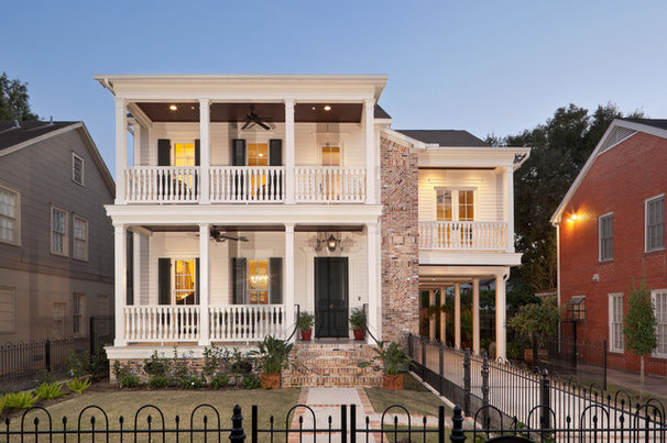 Traditional Exterior by 2Scale Architects