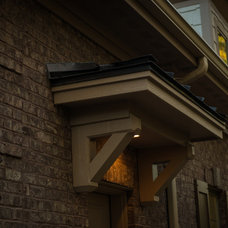 Traditional Exterior by Blue Sky Building Company