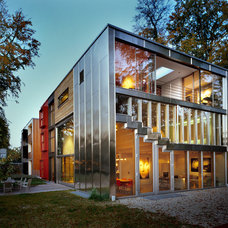 Contemporary Exterior Barcode House, MVRDV