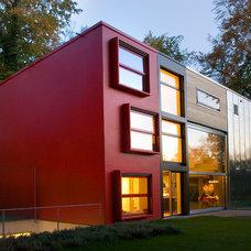 Contemporary Exterior Barcode House, MVRDV
