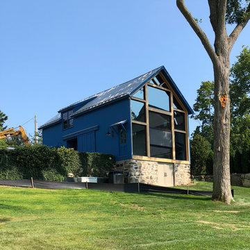 Barn on the Long Island Sound