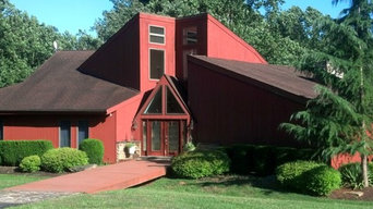 Barn Red with Musket Brown Trim