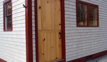 Barn style dutch entry door