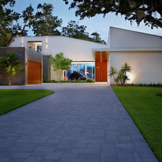 Modern Exterior by Sanders Pace Architecture