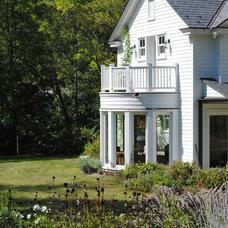 Farmhouse Exterior by Maurice Weintraub Architect
