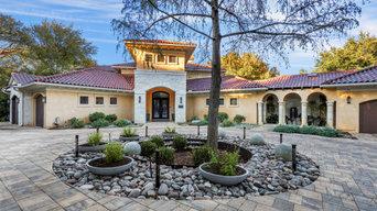 Barton Hills Modern/Spanish Colonial