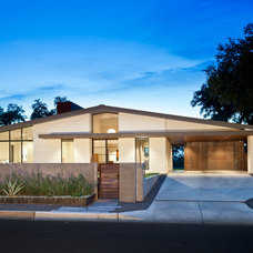 Midcentury Exterior by Andrea Calo