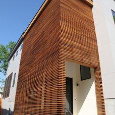 Modern Exterior by Sagatov Design-Build