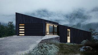 Basalt, Colorado Single Slope Custom Modern Residence