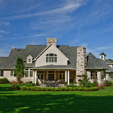 Traditional Exterior by Peninsula Architects