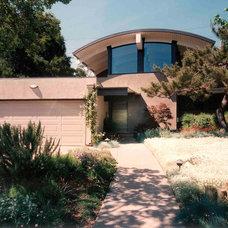Eclectic Exterior by HartmanBaldwin Design/Build