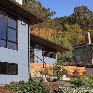 Blaues Modernes Haus in San Francisco
