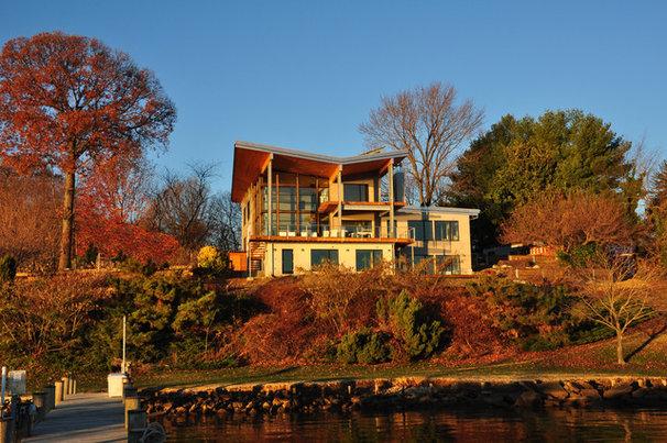 Modern Exterior by Gardner Mohr Architects LLC