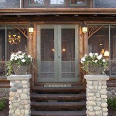 Rustic Porch by Albertsson Hansen Architecture, Ltd