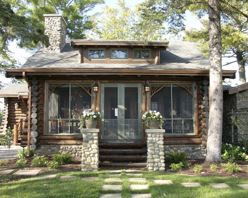 Lake Cabin Design Ideas Amp Remodel Pictures Houzz