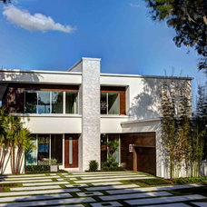 Contemporary Exterior by Phil Kean Design Group
