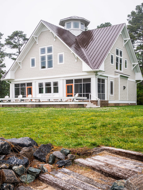 Craftsman roof houzz for Craftsman roofing