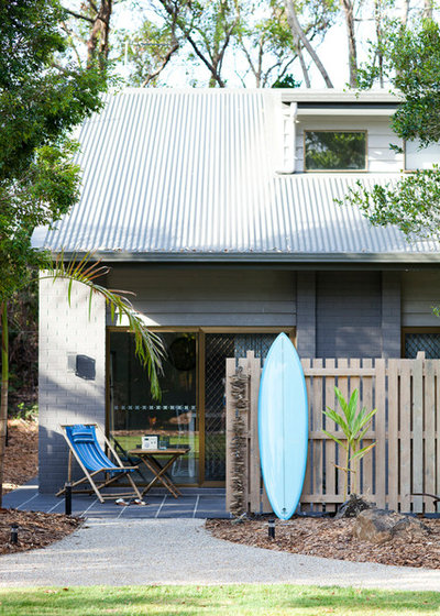 Beach Style Exterior by Designing Spaces & Places