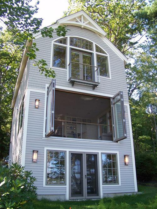Casa lunga e stretta foto e idee houzz for Piani casa tetto a capanna