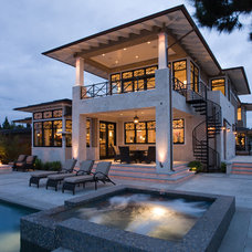 Contemporary Exterior by Dorothy Howard AIA, Architect