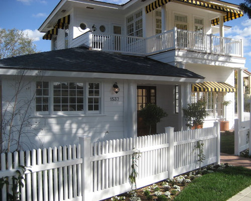 White Fence Design Ideas Amp Remodel Pictures Houzz