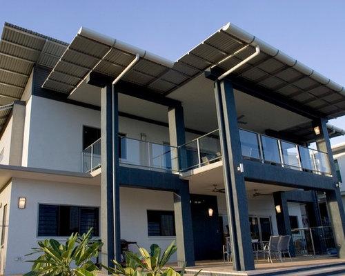 tropical darwin exterior home design ideas remodels photos
