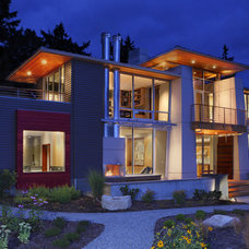Contemporary Exterior BC & J Architecture