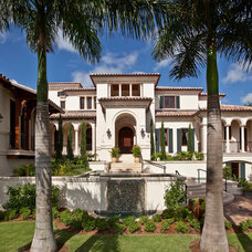 Mediterranean Exterior by Kurtz Homes Naples