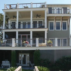 Traditional Exterior by Sea Island Builders LLC