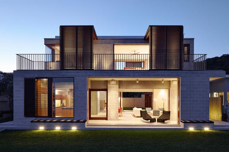 Contemporary Exterior by Porebski Architects