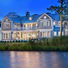 Beach Style Exterior by Anthony Wilder Design/Build, Inc.