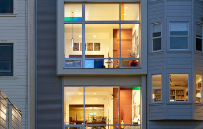Mondrian Inspires a Modern Addition