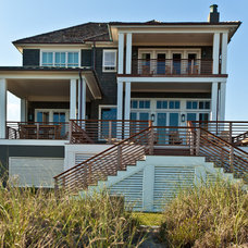 Beach Style Exterior by Andrew Roby General Contractors