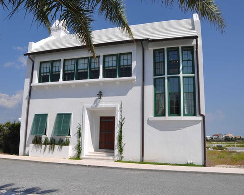 Bahama shutters houzz for Bermuda style exterior shutters